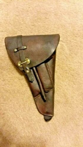 Ruger Mark I, II, III 22LR Leather Holster #W9