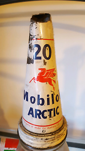 Authentic mobilo australia pty ltd oil bottle Bexley North Rockdale Area Preview