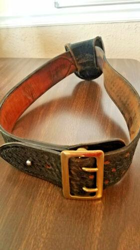 Vintage Safety Speed Holster Duty belt size 34