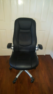 Office chair leather $60 good condition