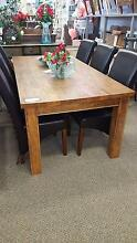 Solid Mango wood Dining table 2x1m - Perfuremp Midland Swan Area Preview