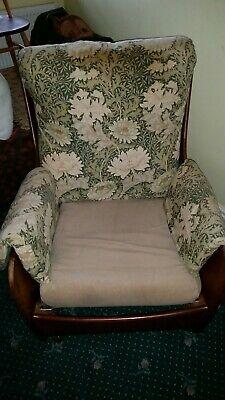 Vintage G Plan Teak  Saddleback 70's Armchair.