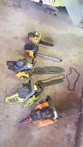 Chainsaw collection Parkerville Mundaring Area Preview