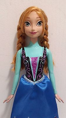 "Disney Princess Anna Barbie Doll Frozen 11"" Mattel 2013"