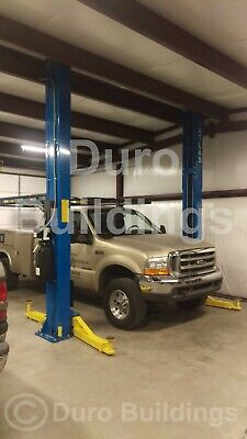 Durobeam Steel 50x40x12 Metal I-beam Building Workshop Auto Lift Garage Direct