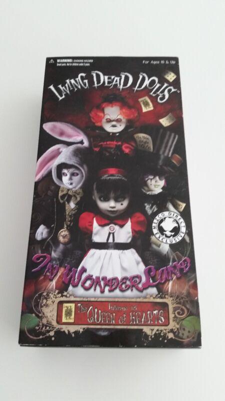 Living Dead Dolls Alice in Wonderland Variant Queen of Hearts