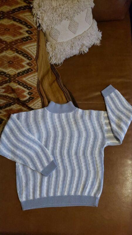 Blue Vintage Knit Sweater