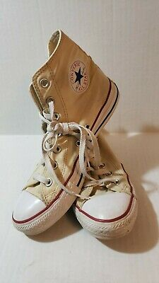 Converse chuck Taylor's classic white Sneakers Size mens 6 womens 8