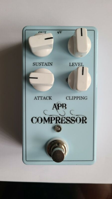 APB COMPRESSOR (HAND-WIRED KEELEY 4 KNOB COMPRESSOR V1 CLONE) NEW, FREE SHIPPING