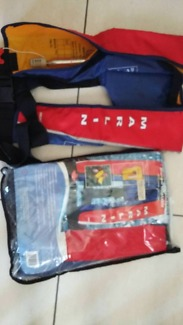 Two Inflatable Life Jackets 150N PFD