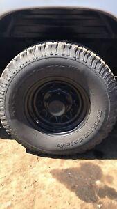 Mag Pro comp 8x6,5 r16 avec pneu all terrain