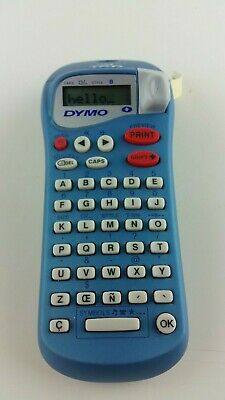 Dymo Letratag Blue Personal Label Maker White 12 Labeling Cassette