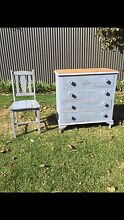 Chest of drawers and matching Chair Brighton Holdfast Bay Preview