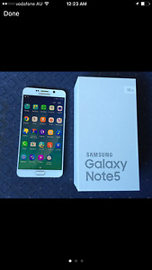Samsung Galaxy Note 5 as Brand New Parkinson Brisbane South West Preview