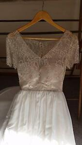 Hand beaded wedding dress Nairne Mount Barker Area Preview