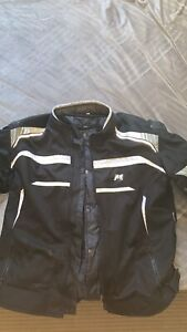 Motorcycle Jacket and Gloves Goonellabah Lismore Area Preview