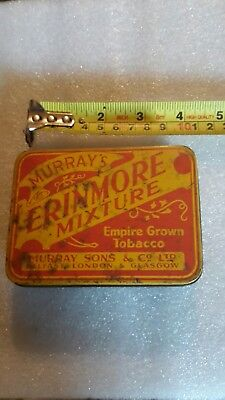 A Vintage Erinmore Tobacco Tin Containing A Selection Of Large Antique...