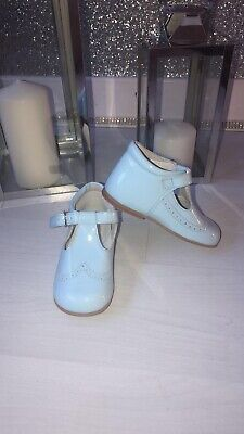 Andanines Pale Blue Spanish Shoes