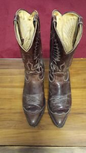 Men's Cowboy Boots Like New Condition Size 8.5