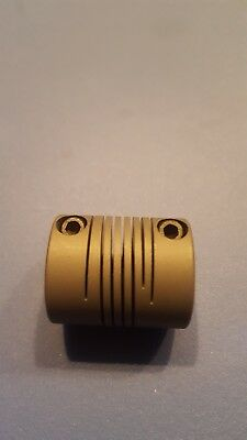 New Helical Flexible Shaft Coupling. 316 Shaft Both Ends. Model Acr075-6-6