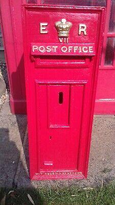 Royal Mail Edward 7th ER VII Post Box wall box