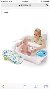 Baby tub and shower