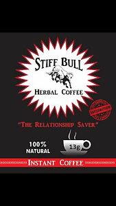 STIFF BULL HERBAL COFFEE INSTANT COFFEE