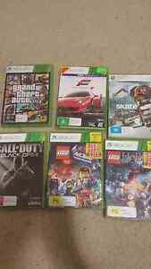 6x Xbox 360 games Belmont Brisbane South East Preview