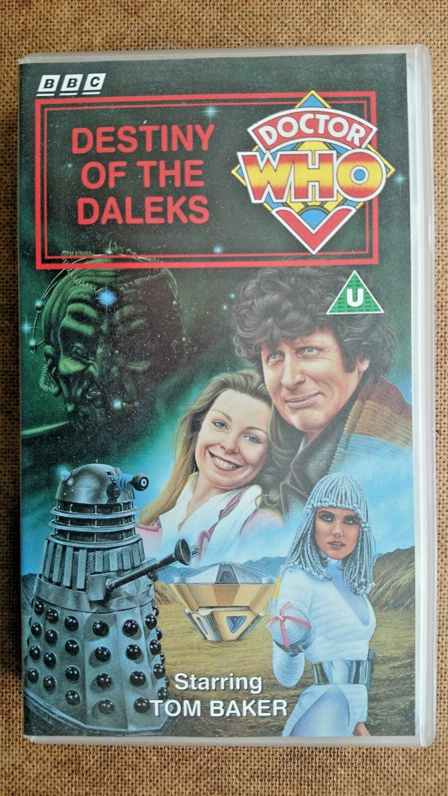Doctor Who - Destiny Of The Daleks (VHS, 1994) - Tom Baker