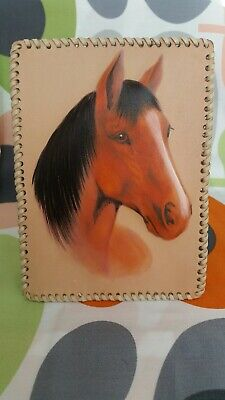 Horse pictures Leather embossed