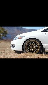 Selling my gold 18inch fast rims