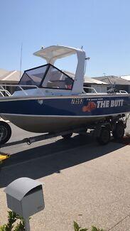 5.8m magnum aluminium boat - Swap or sell