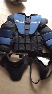 Protective goalie gear