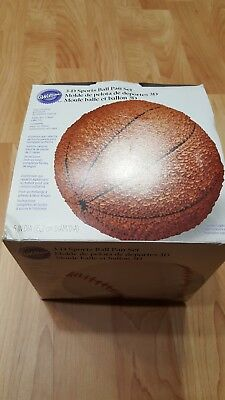 6 Inch Cake Pan (Wilton 3-D 6 Inch Diameter Sports Ball Cake Pan Set)