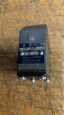 Balluff Bes 516-341-ho-l-pnp Nc 8810 Inductive Proximity Sensor Limit Switch