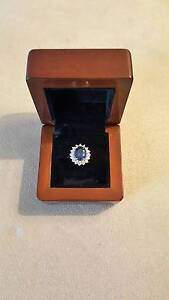Never worn sapphire and diamond engagement ring Watson North Canberra Preview
