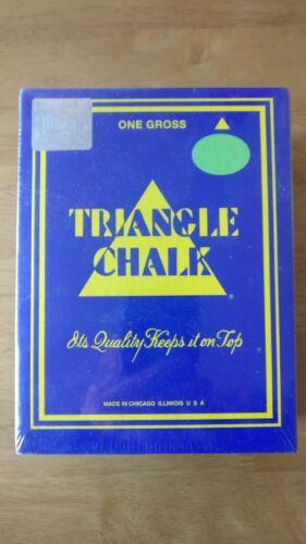 SNOOKER CHALK TWEETENS GREEN TRIANGLE (1 GROSS/144 Pc