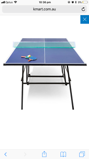 Table tennis and accessories