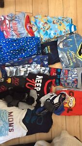 Size 5/6 boys pjs and some