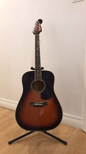 Fender made in Japan 1980's Malibu acoustic