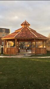 Custom Cedar Gazebos  by  WoodCraft Canada