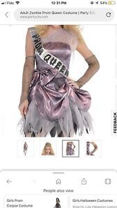 Prom Zombie Size Teen Small Party City