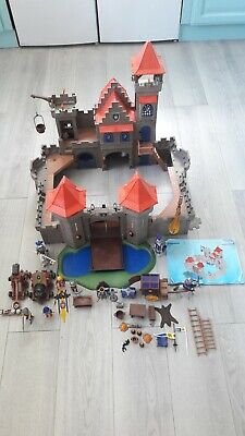 playmobil 3268 large empire castle knights with extras and figures dragon