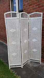 Vintage wicker room divider privacy screen Mayfield East Newcastle Area Preview