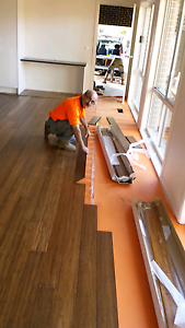 Installation  timber floor Southbank Melbourne City Preview