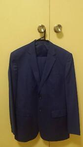 Mid-Blue custom suit - As New - Worn ONCE (wedding) - RRP $900 Albert Park Port Phillip Preview