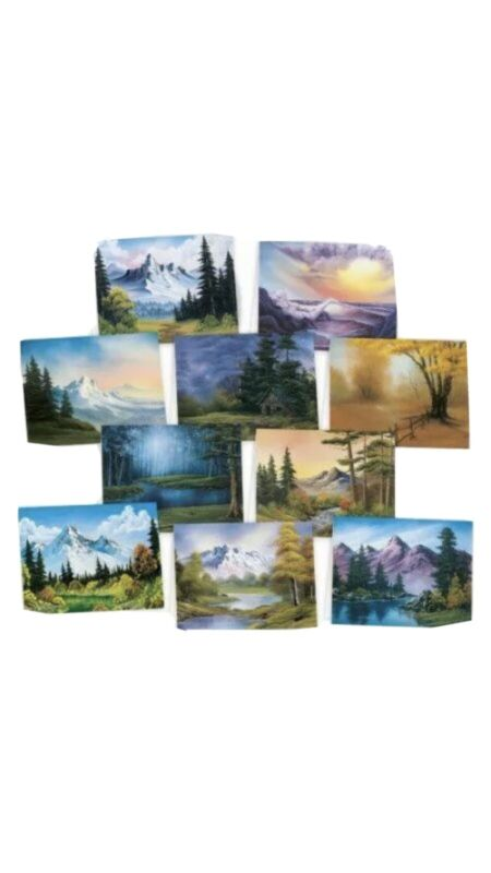Bob Ross Notecards by Ross, Bob 10 Cards And Envelopes