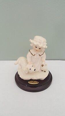 "florence figurine ""puppy love"""