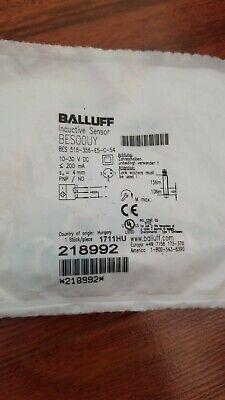 Balluff Inductive Sensor Bes-516-356-e5-c-s4 New