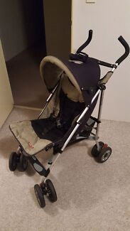 Steelcraft Stroller with caddy bag and basket Darch Wanneroo Area Preview